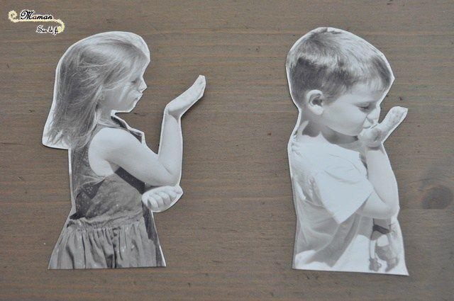 Activité Enfants - toile cadre à offrir - cadeau maitresses ATSEM