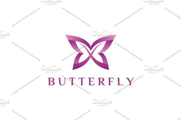 Butterfly Templates **Logo Template **- 100 Vector logo- Editable