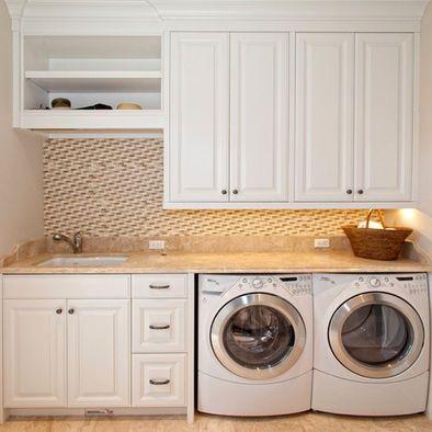Laundry Room Bathroom Combo Decor