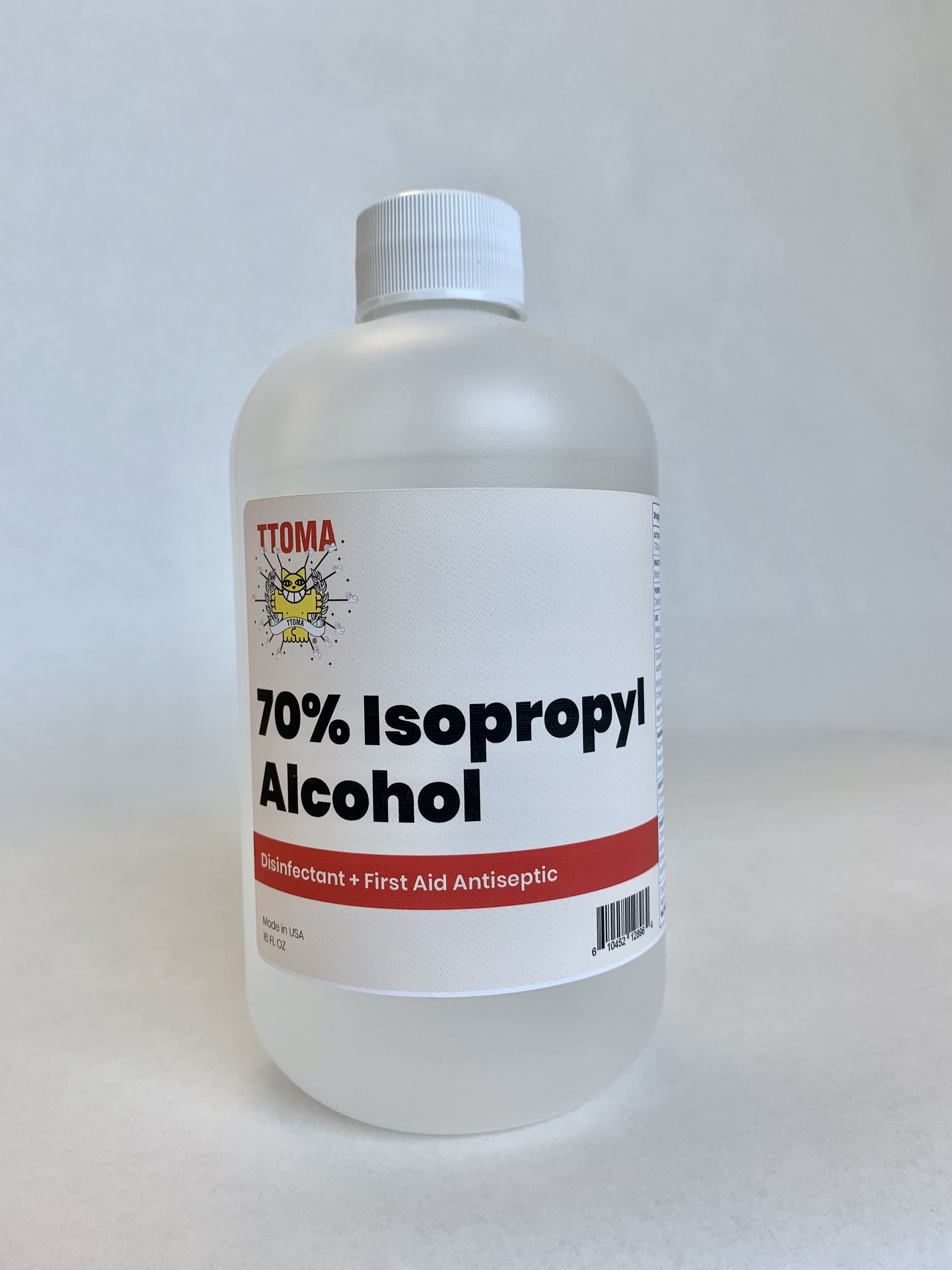 Ttoma Brand 70 Isopropyl Alcohol Disinfectant Spray 16