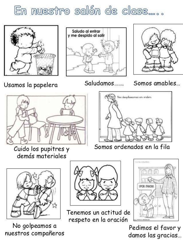 Pacto De Aula Imagenes De Convivencia Escolar Imagenes De Convivencia Acuerdos De Convivencia Escolar