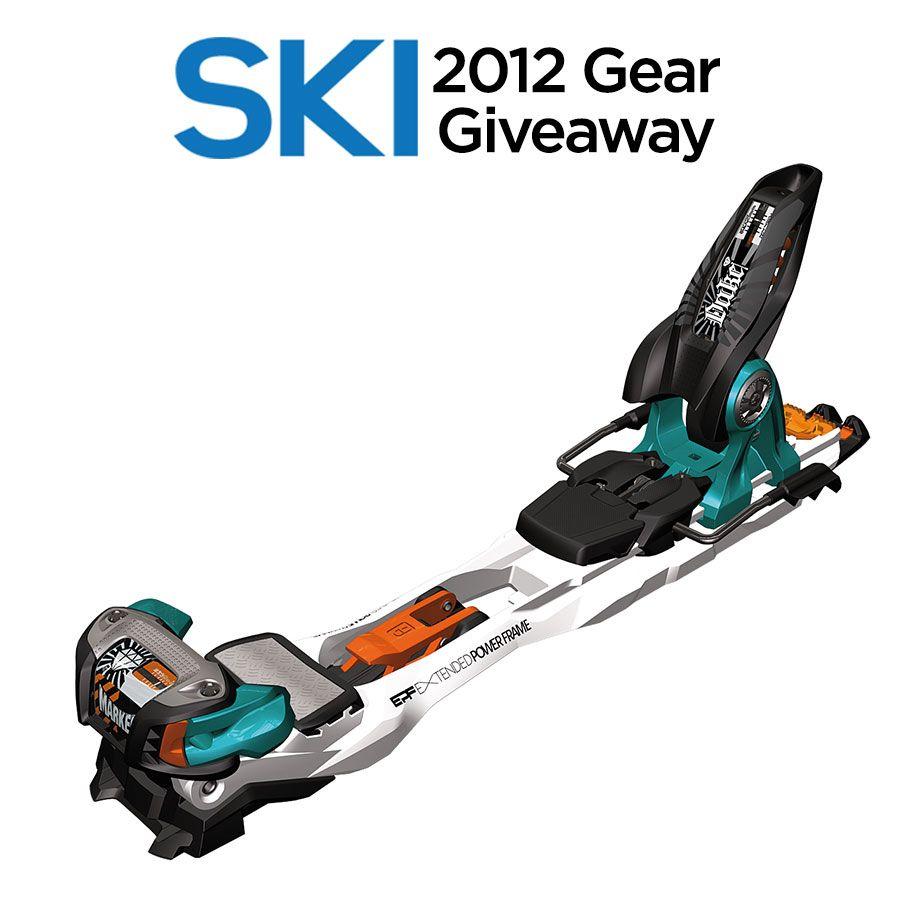 SKI's #GearGiveaway #Marker Duke Binding.These Are Perfect