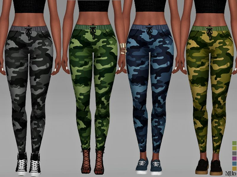 -Some cool camouflage pants for female sims Found in TSR Category  Sims 4  Female Everyday  5cdaf92952aba