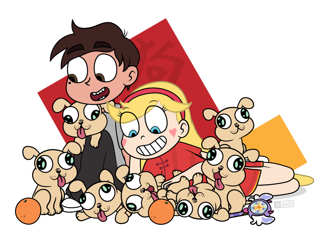 Judacris Year Of The Dog Means I Get To Bring Out The Puppers So Many Puppers Happy Chinese New Star Vs The Forces Of Evil Star Vs The Forces Force Of