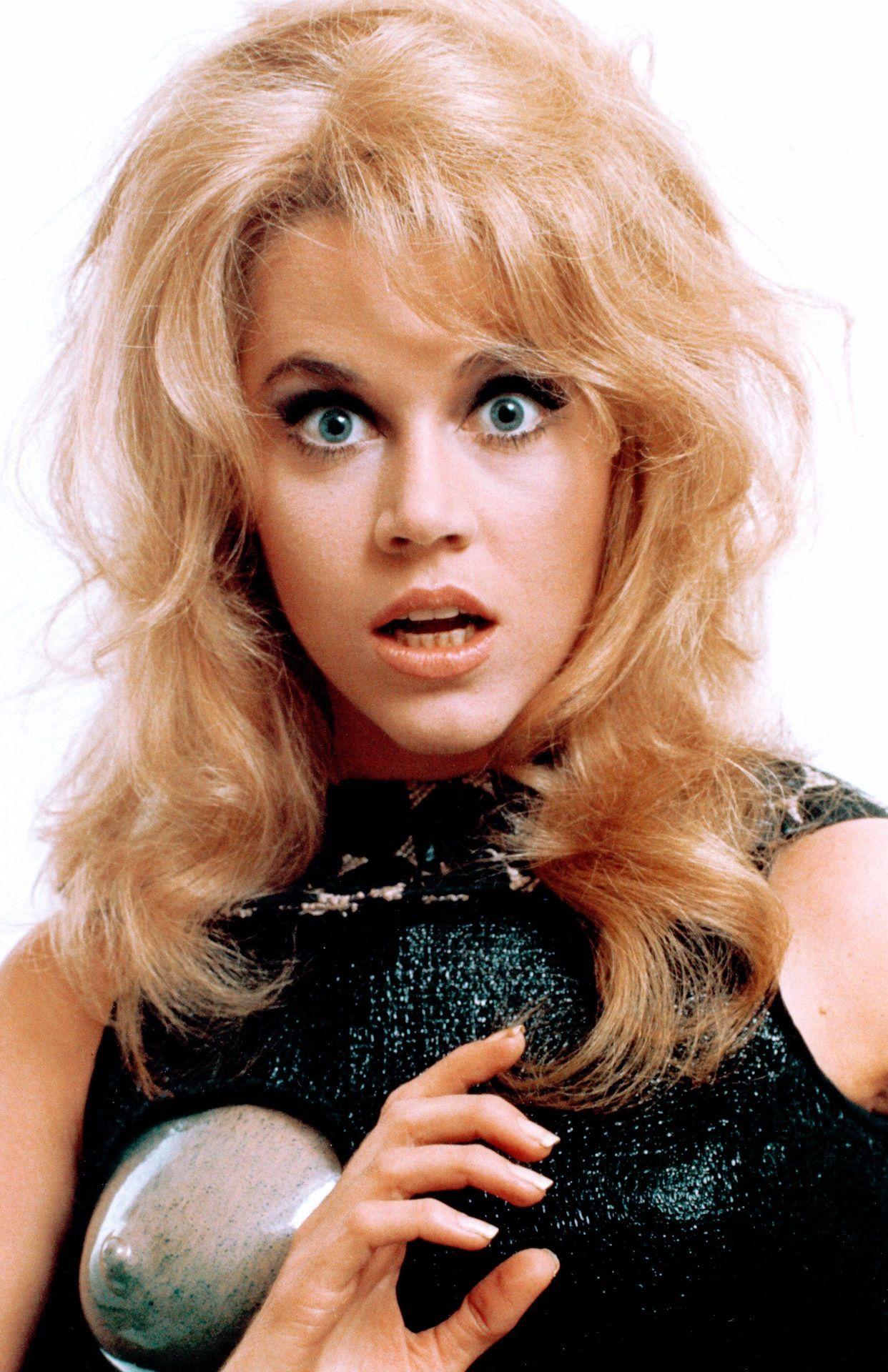 "Jane Fonda is so charming in ""Barbarella."""