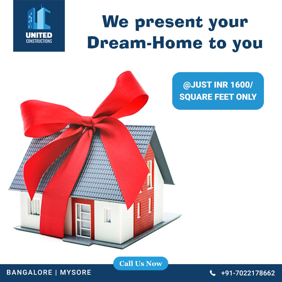 With Thorough Experience We Go Long Way In Flawless Perfect And Punctual Execution We Present Your Dream Home Home Drea Dream House The Unit Construction