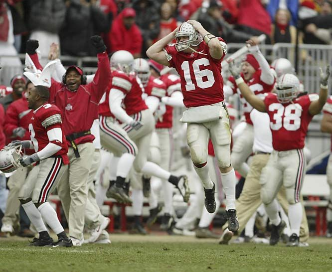 2002 Ohio State 14, Michigan 9. Ohio State, the nation's No. 2 ...