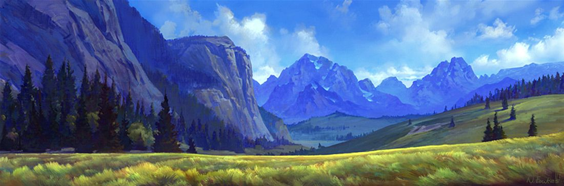 Spirit Stallion Of The Cimarron 2002 Backgrounds Landscape Concept Fantasy Landscape Landscape Art