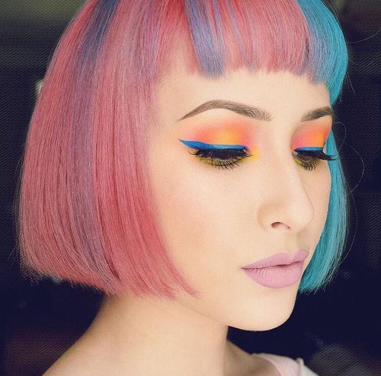 blasians.   Hair makeup, Hair beauty, Beauty
