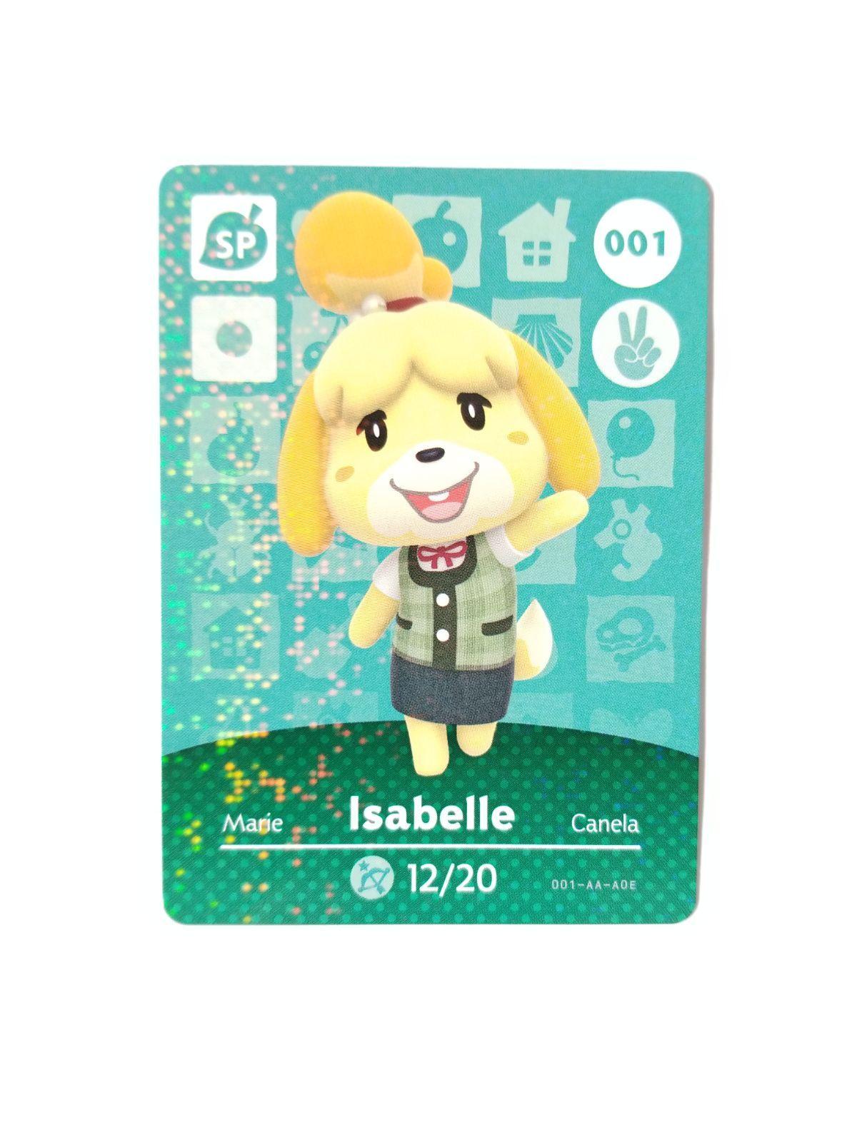 Animal Crossing Amiibo Card Isabelle 1 Mercari in 2020