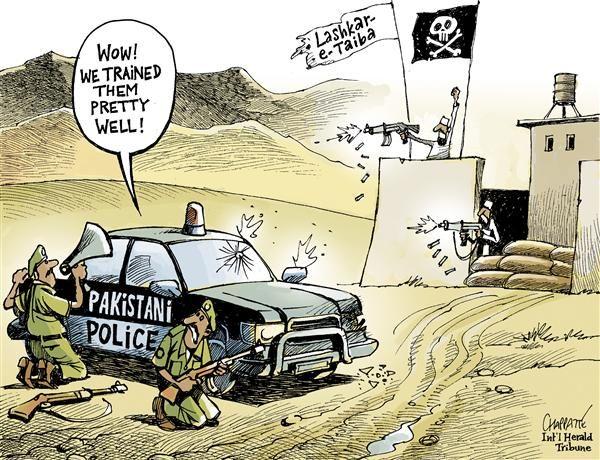 Patrick Chappatte - The International Herald Tribune - Pakistan 's