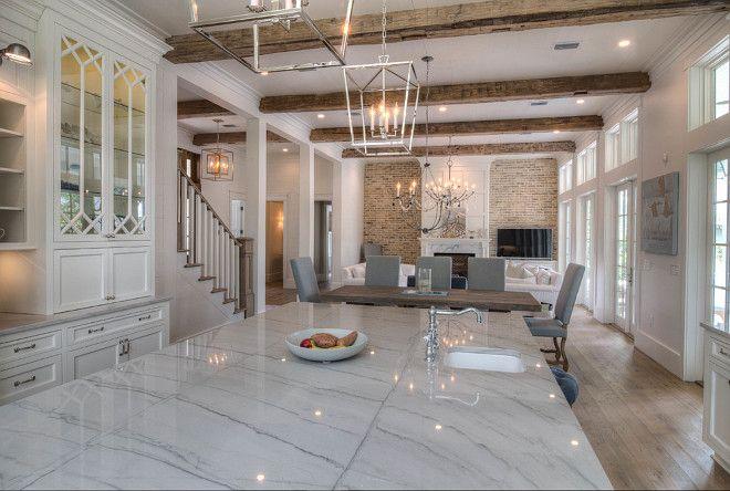 beautiful white kitchens | white macaubas quartzite, kitchen white