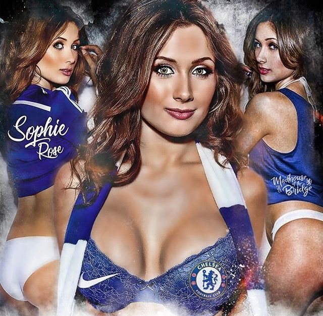 Sophie Rose - Chelsea FC Super Fan