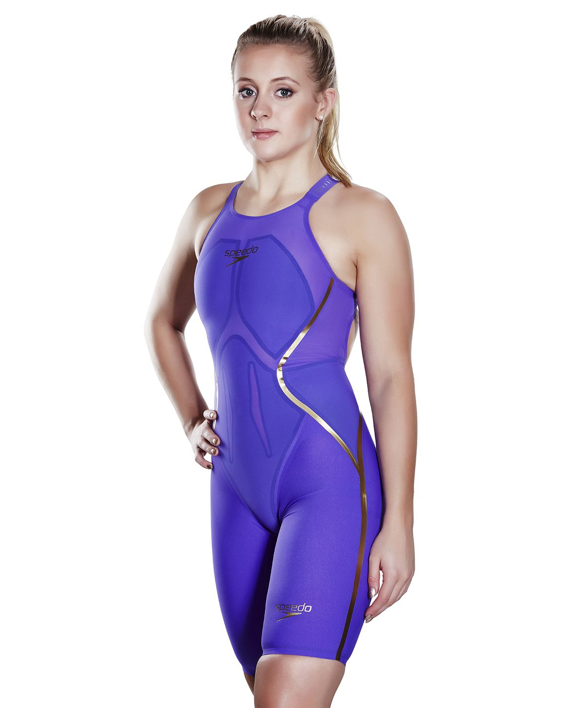 7e6eb84d34 LZR Racer X Openback Kneeskin - Speedo LZR Racer X - Competition Swimwear -  COMPETITION