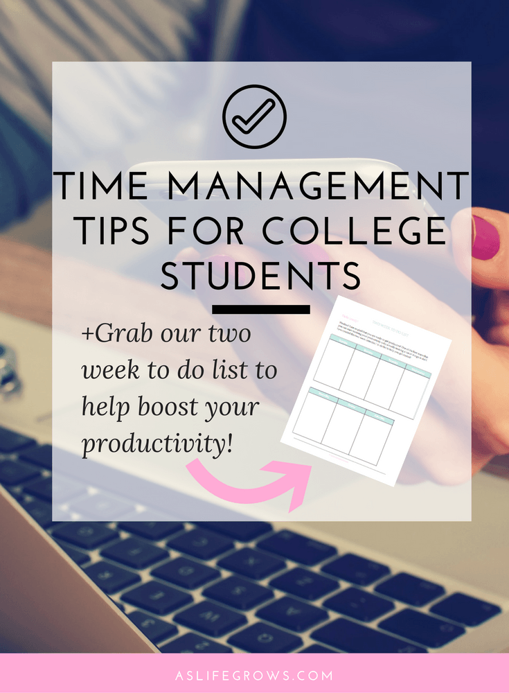thesis about time management of students