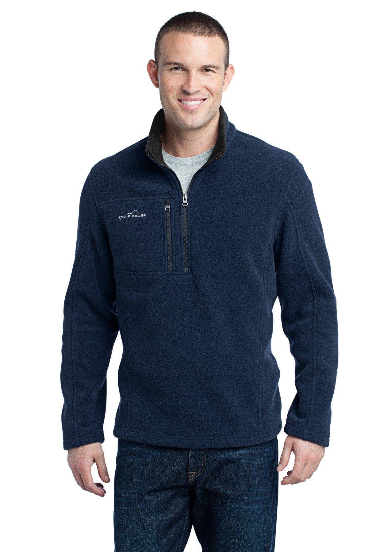 c5524c7f82f Eddie Bauer - 1 4-Zip Fleece Pullover EB202 River Blue