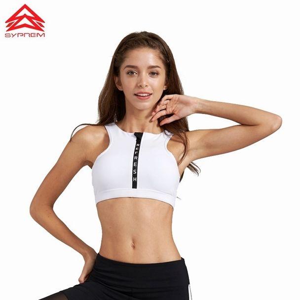 1ced313692 SYPREM 2017 Spring Fitness Sports Bra letter (1)  yogaBra  YogaBras ...
