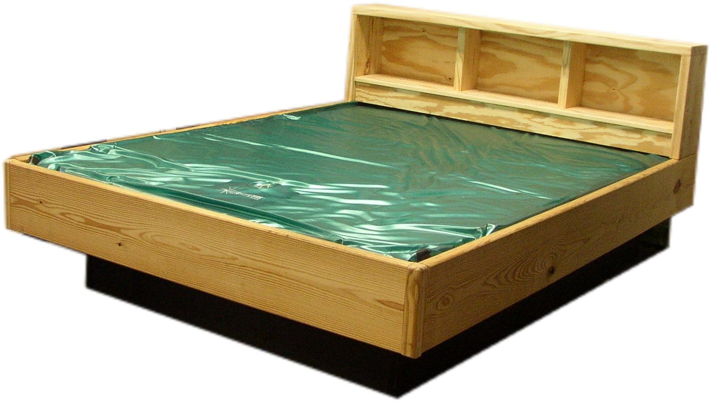 Waterbeds Each Bedroom Comes Equipped With A Bed The Plus Side Of Living In Florida If You Want To Experience Th Water Bed Water Bed Mattress Waterbed Frame