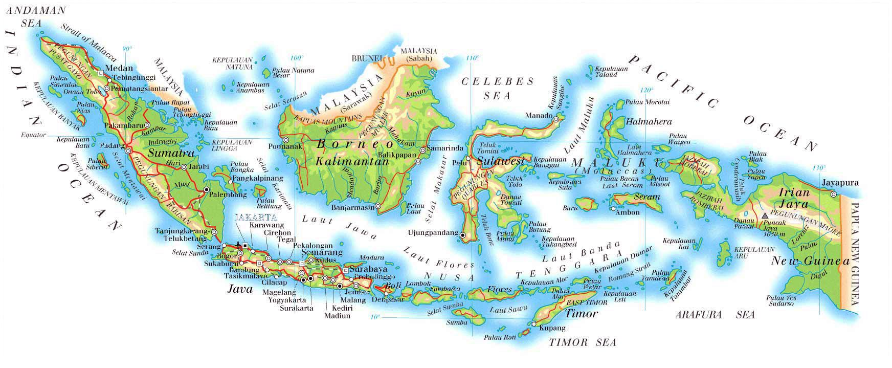 map of indonesia | Physical map of Indonesia. Indonesia physical map Indonesian Map on acholi map, uygur map, pan european map, quebecois map, biblical greek map, maluku island indonesia map, chichewa map, gaulish map, valencian map, sri lankan map, sumatra map, world map, jakarta indonesia map, serb map, india map, haiti map, bangladesh map, java map, zande map, inuit cultures map,