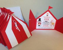circus party invitations - Google Search
