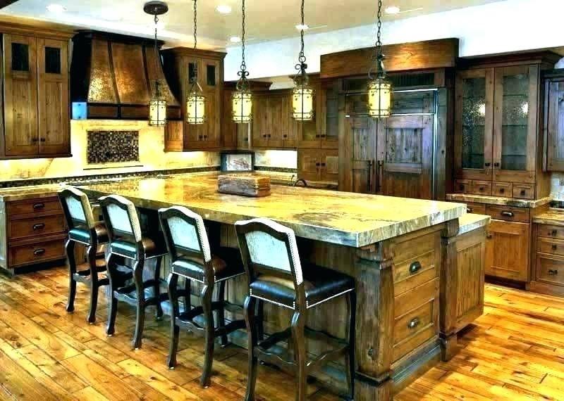 Kitchen Lighting With Kitchen Bar Lights Home Interior Design Ideas In 2020 Luxury Rustic Kitchen Rustic Kitchen Rustic Modern Kitchen