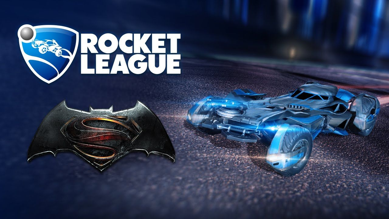 The Batmobile Comes to Rocket League in New Patch March