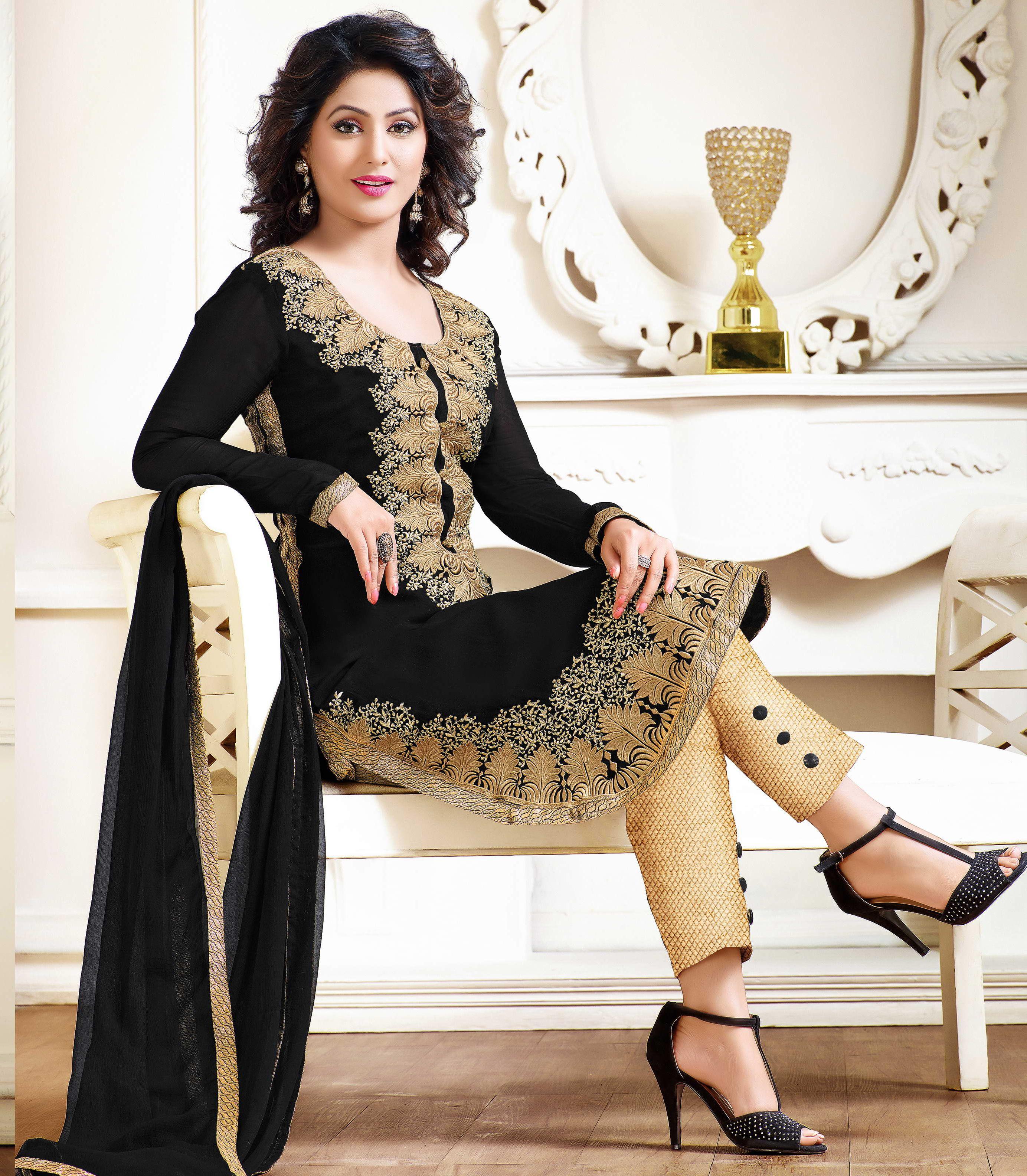 507c7054d8 Designer black colour salwar kameez | Designer Salwar Kameez ...