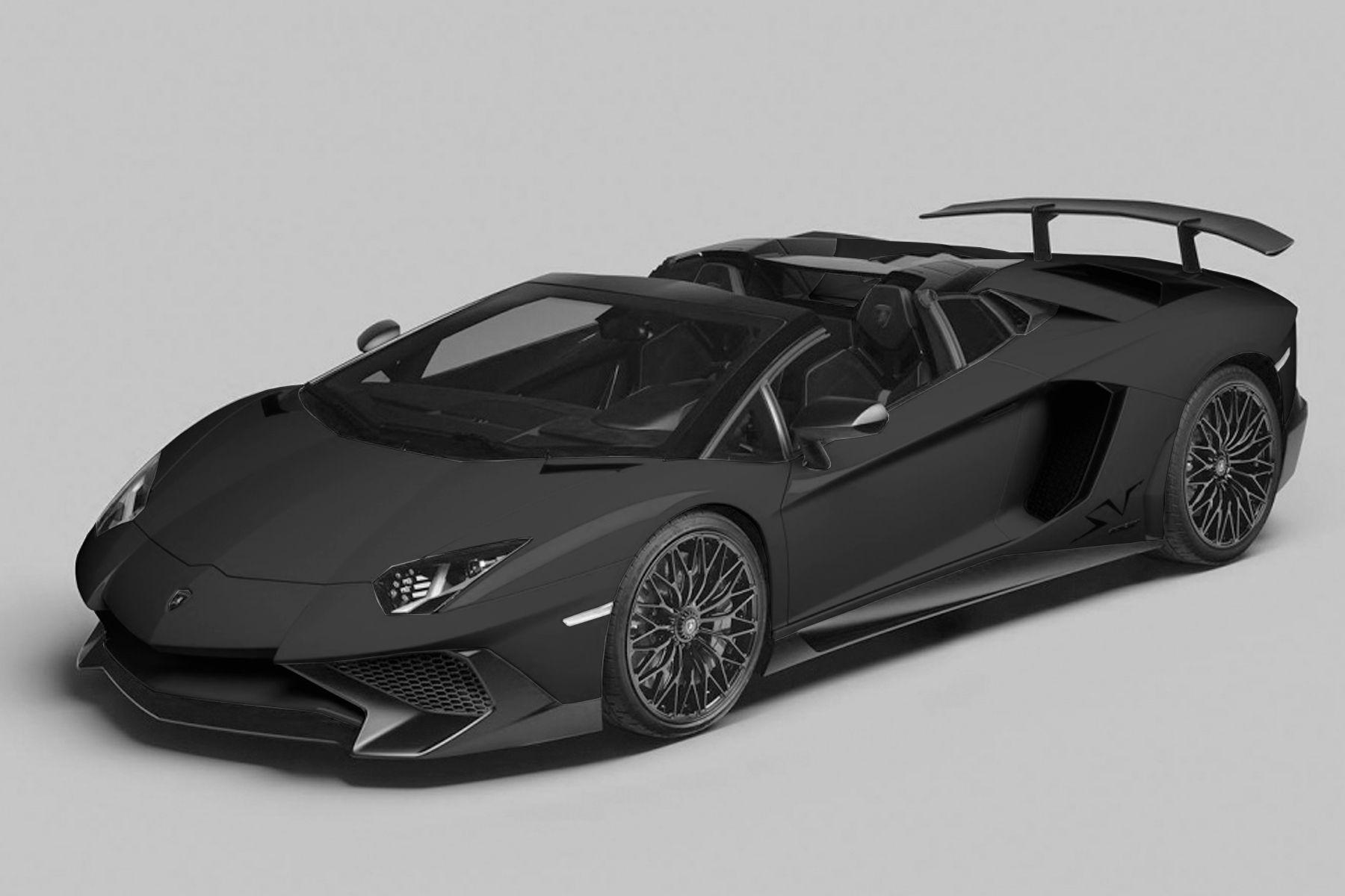 13++ Lamborghini aventador roadster black trends