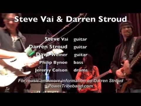 Steve Vai and Darren Stroud - incredible guitar jam live (part 2)