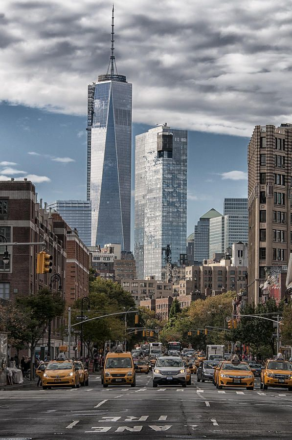 Freedom Tower By Roni Chastain New York Ny City Nyc Street