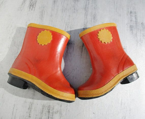 8314735ba50d0 Baby Boots, Rubber Boots, Russian Vintage Child Footwear ...