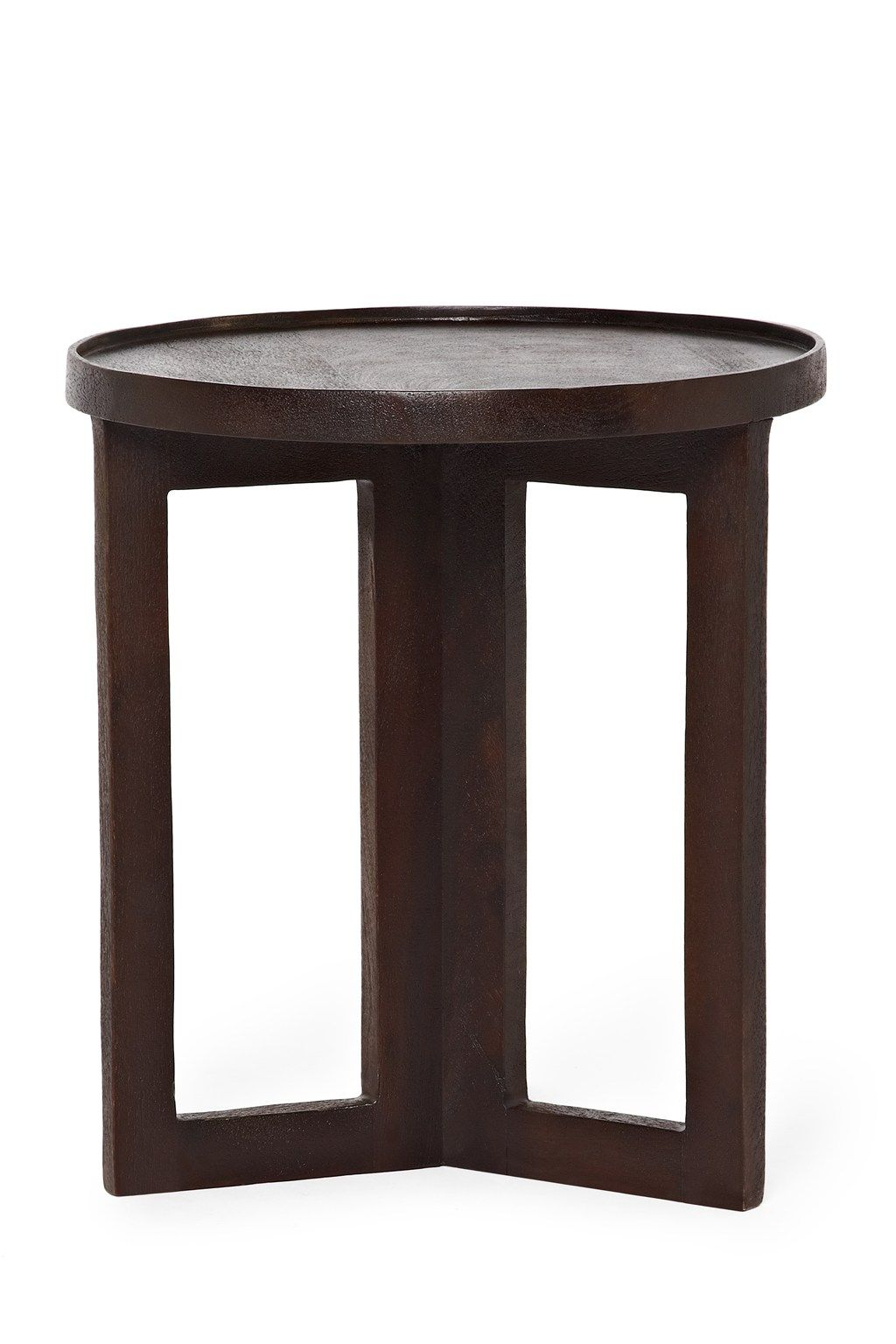 Superior Small Lipped Side Table   Occasional Furniture   French Length  41cm, Width   41cm