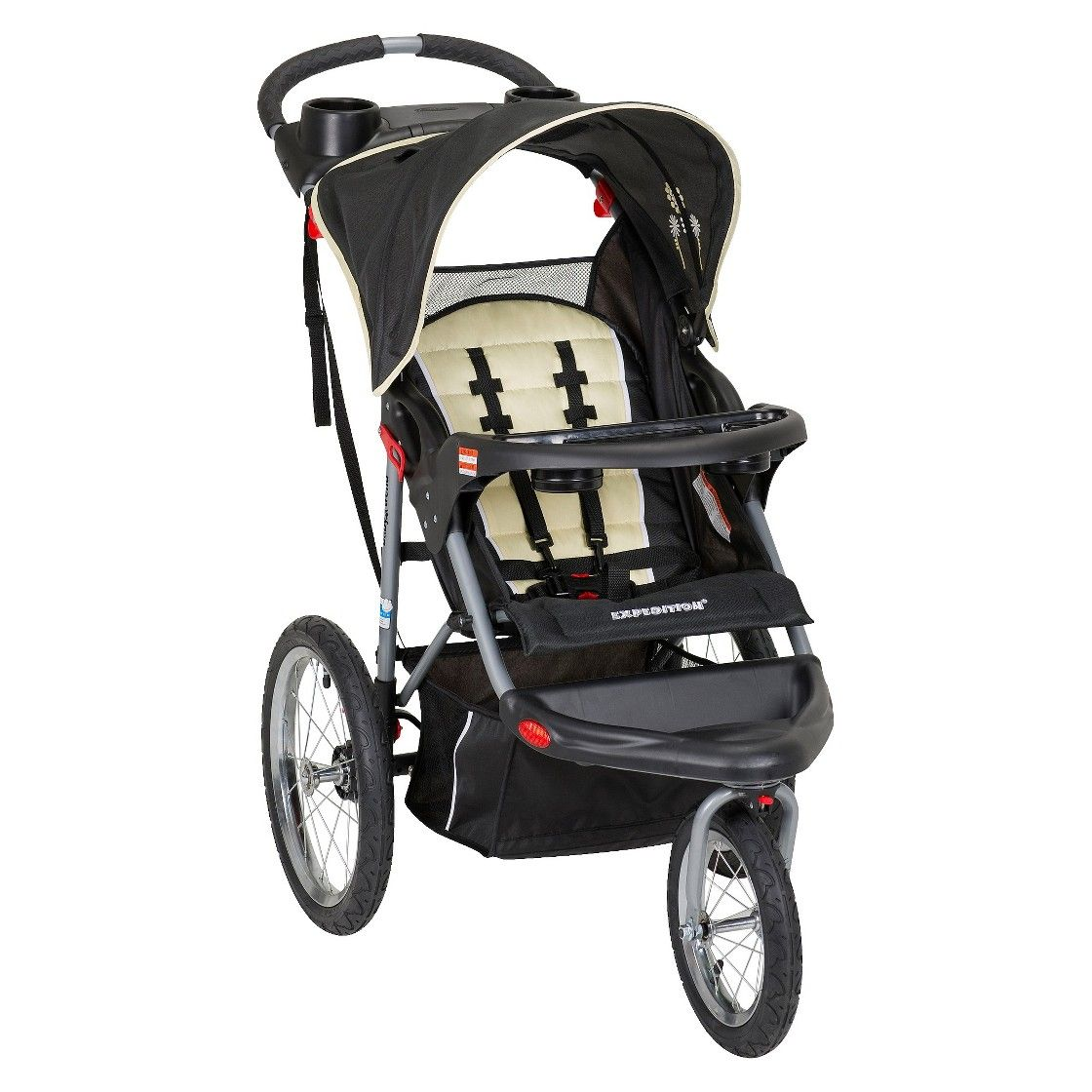 Baby Trend Expedition Jogging Stroller Folded Dimensions