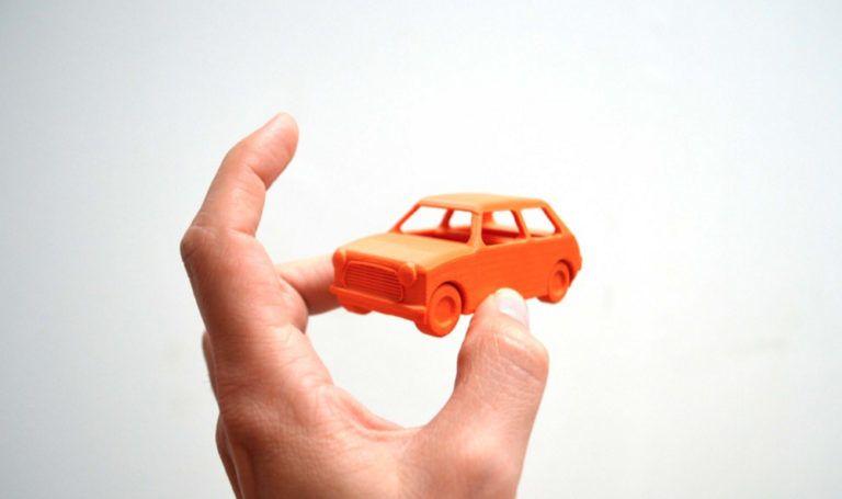 mini compact car 3d