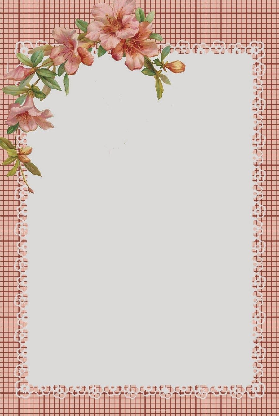 Pink Hibiscus Stationary and Journal Cards Free-download | glenda\'s ...