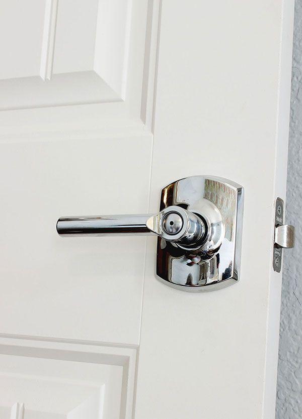 Changing Door Hardware An Easy Upgrade Door Hardware Hardware