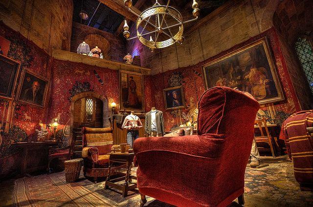 Gryffindor Common Room Gryffindor Common Room Hogwarts Room Gryffindor