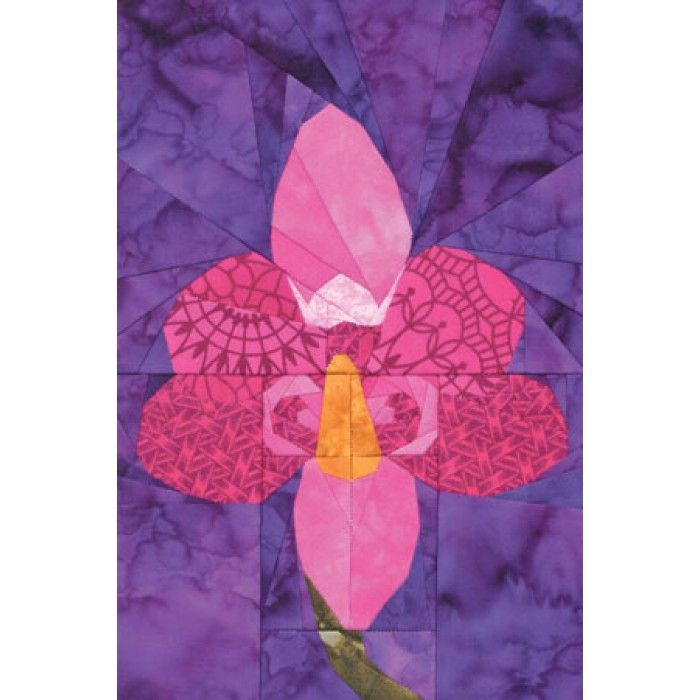 Phalaenopsis Orchid Quilt Pattern Quilt Patterns Quilts Orchids