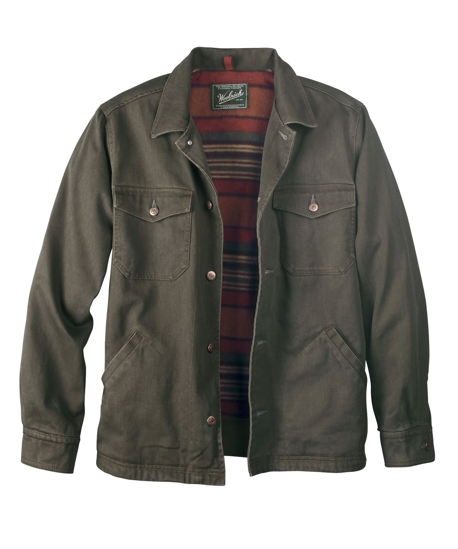 Men's Dorrington Shirt Jacket by WOOLRICH® The Original Outdoor ...