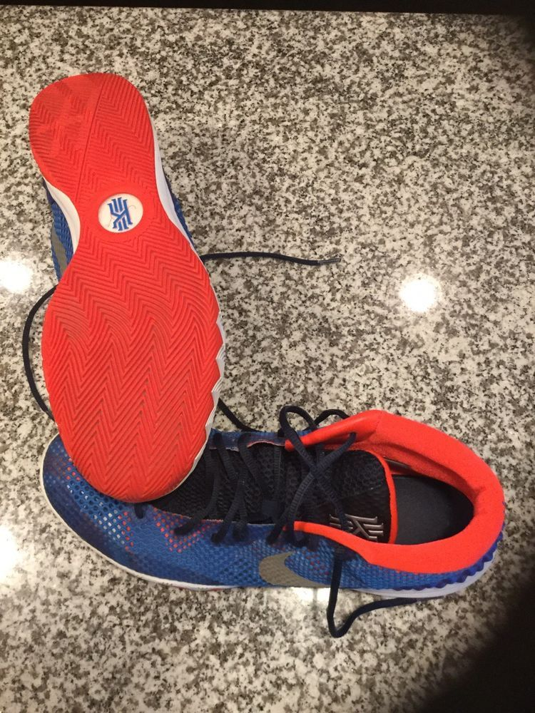 220de67d7f2a1 Nike Kyrie 1 USA Independence Day Silver White Blue July 4th Jordan ...