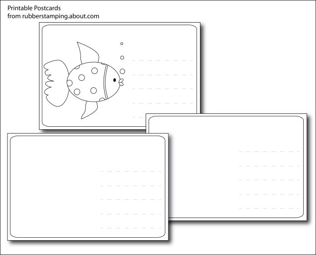 1000 ideas about Make Your Own Postcard – Free Printable Postcard Templates