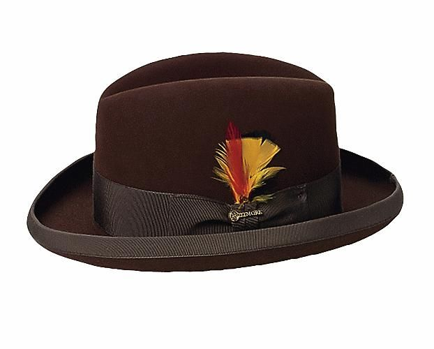 Classic homburg Mens Dress Hats 753ed68b622