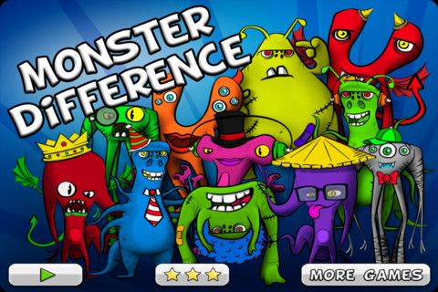 FREE! can you tell the Monster Difference? App reviews