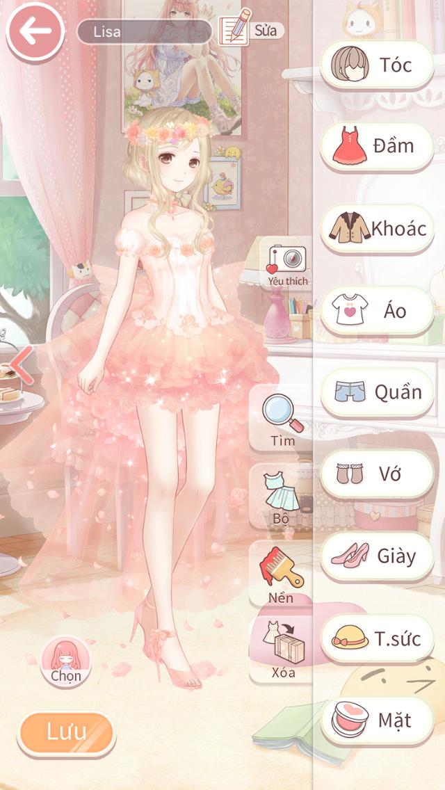 Nữ thần mộng mơ