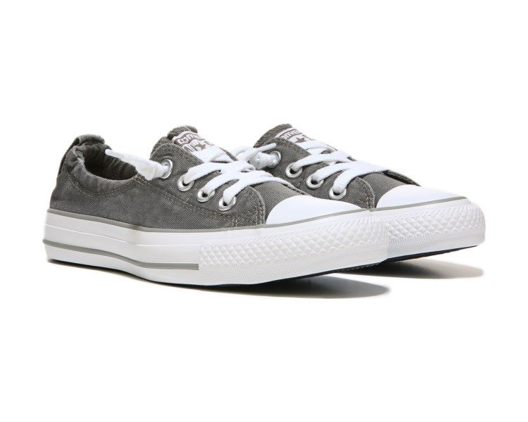 2ccda879eafa Converse Chuck Taylor All Star Shoreline Slip On Sneaker Charcoal Distressed