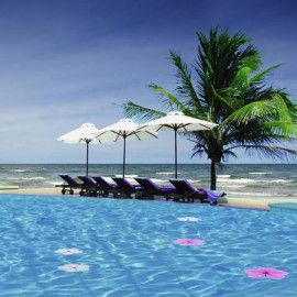 Weight Loss Retreat In Vietnam The Pool Sits Right Next To The