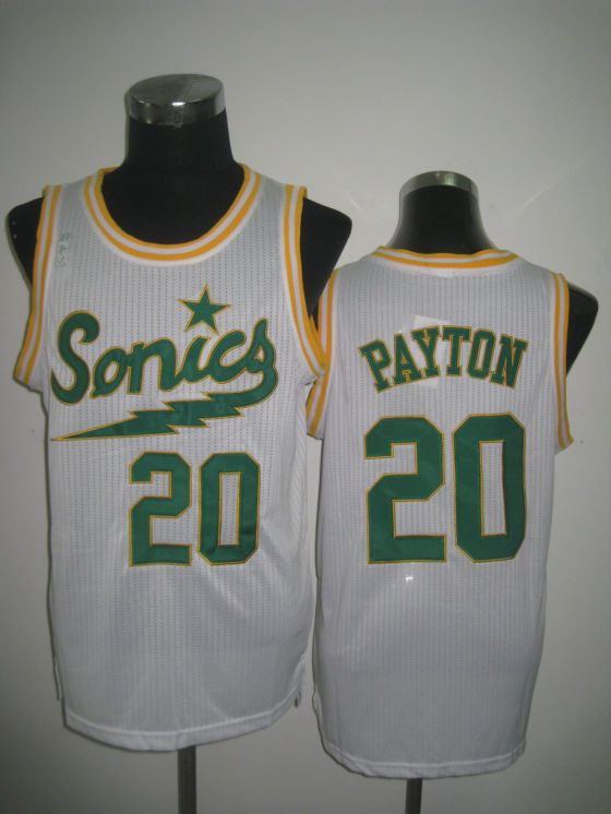 8a2bb2c9a6b NBA Oklahoma City Thunder  20 PAYTON Jerseys-white