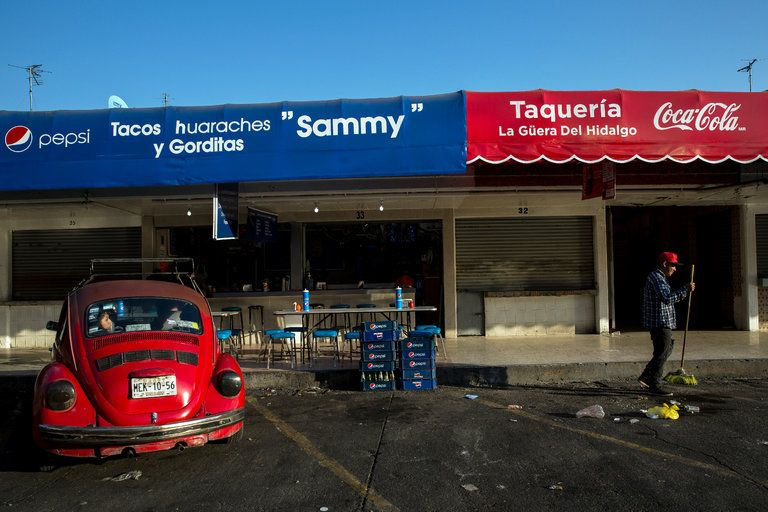 Sales Fall Again in Mexico's Second Year of Taxing Soda - The New York Times