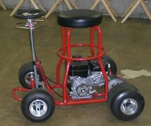 Pleasing Motorized Barstool Sells For 1 125 Go Kart Bar Stools Caraccident5 Cool Chair Designs And Ideas Caraccident5Info