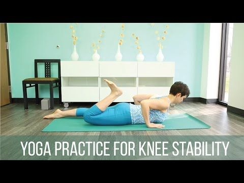 Yoga practice for knee stability - Sequence Wiz